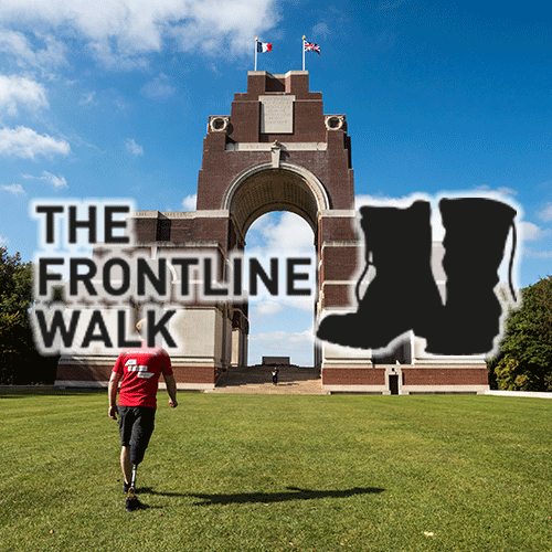 The Frontline Walk 2022: The Western Front