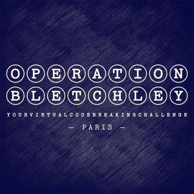 Operation Bletchley 2021: Paris